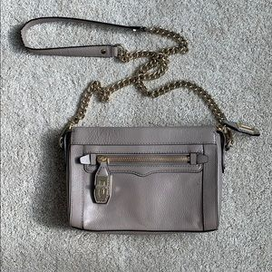 Rebecca Minkoff Crossbody (Mauve & gold hardware)